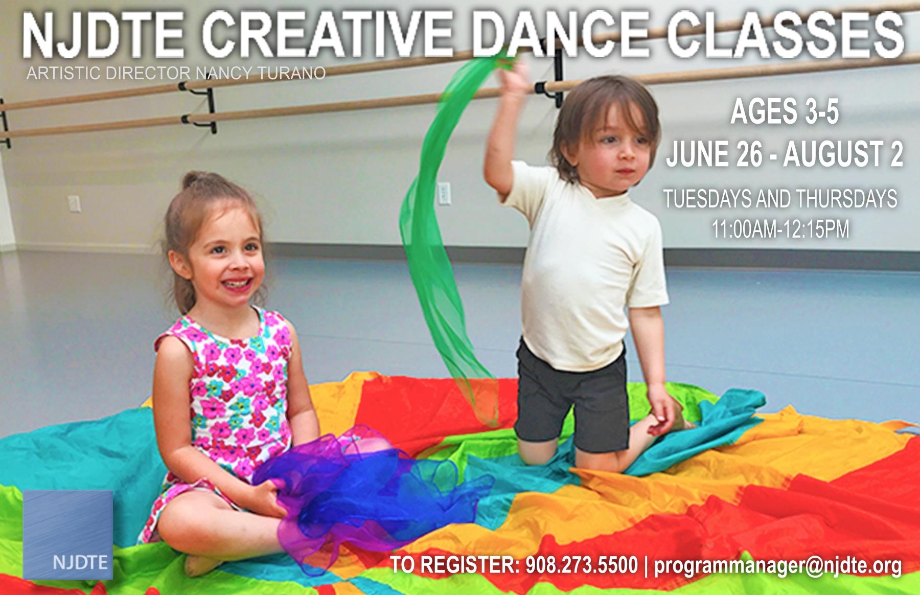 2018 Creative Dance Summer program FINAL 5.30.18