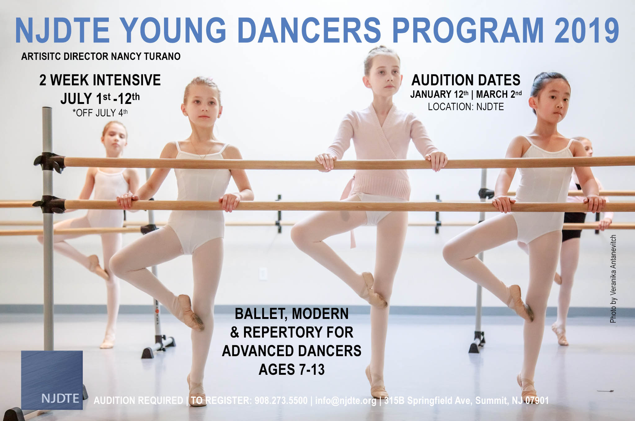 2019 Young Dancer Program | New Jersey Dance Theatre Ensemble
