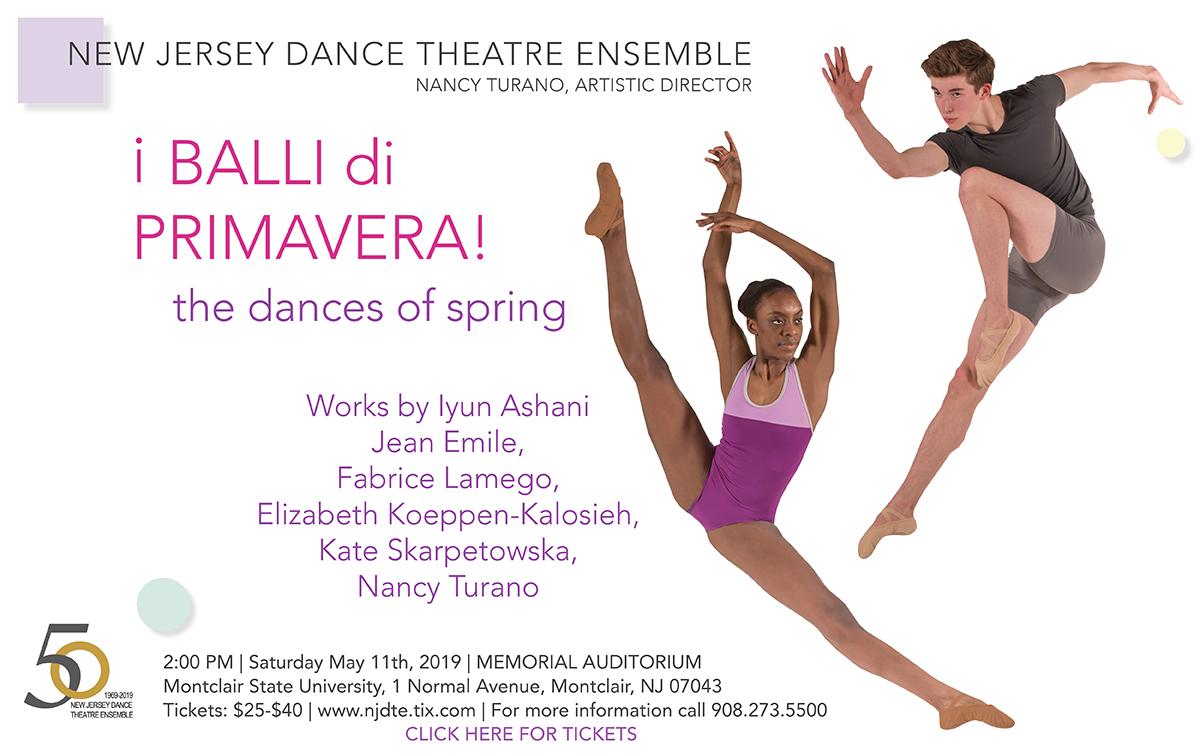 I BALLI di PRIMAVERA - the dances of spring - Click Here for Tickets