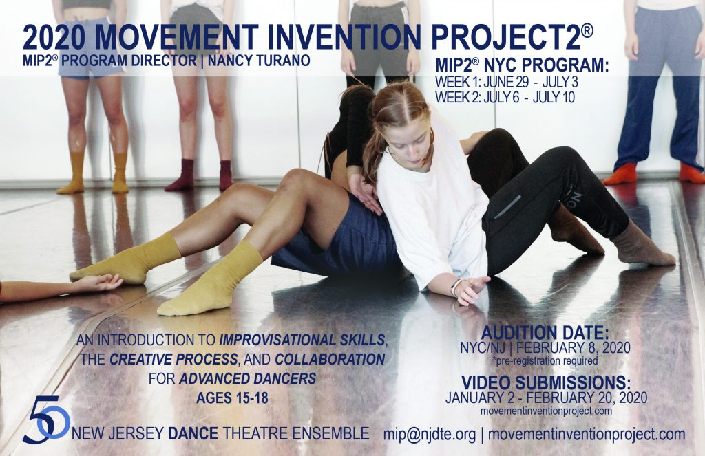 Movement Invention Project 2® | New Jersey Dance Theatre