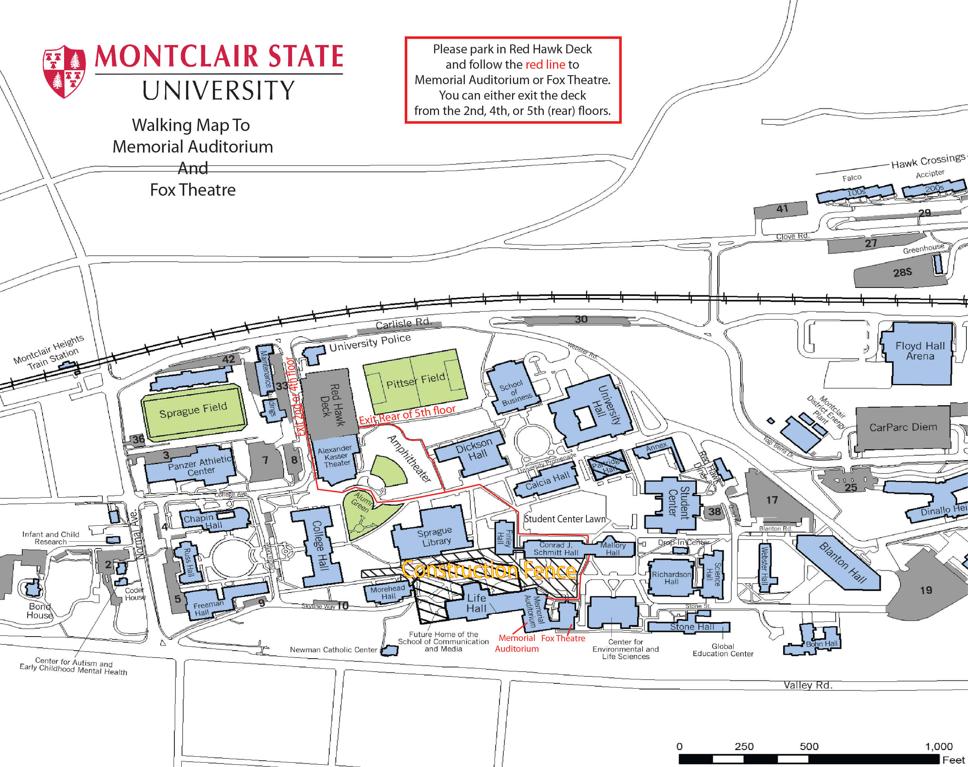 Montclair State University Campus Map Pdf.Njdte Tix Faq New Jersey Dance Theatre Ensemble