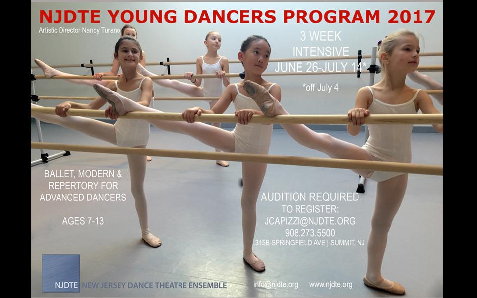 young dancers program slide